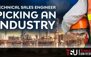 technical sales engineer wearing safety vest holding a hard hat picking the right industry for his career